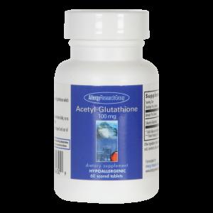Acetyl-Glutathione (100mg), 60 Tablets