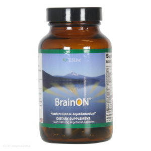 BrainON active Blue Green algae extract (400mg), 240 Capsules, E3live