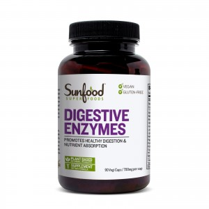Digestive Enzymes, 90 Capsules, Sunfood