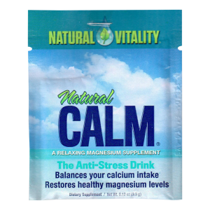 Natural Calm Original, 2 Single-Servings Pack, Magnesium Drink