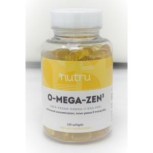 O-Mega-Zen3 | Vegan Omega 3 DHA, 120 softgels