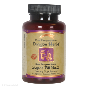 Ron Teeguarden's Super Pill No. 2, 60 Capsules, Dragon Herbs
