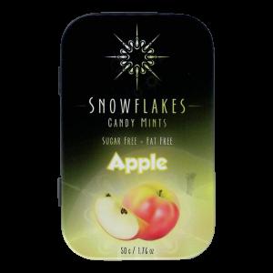 Snowflakes Xylitol Candy Tin | Apple