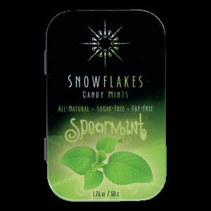 Snowflakes Xylitol Candy Tin | Spearmint