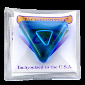 Tachyonized 32mm Triangular Cell - Aqua