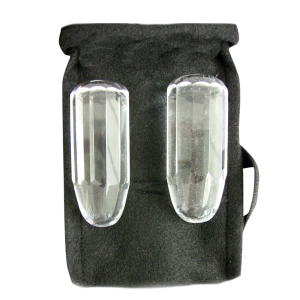 TLC Tachyon Crystals, Polished Massage Bars