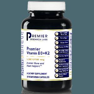 Vitamin D3 + K2, 30 Caps