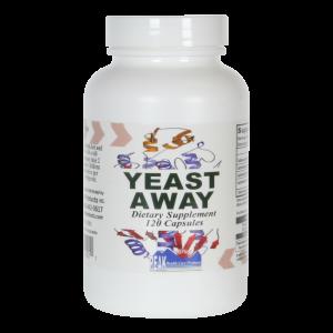 Yeast Away, 120 Capsules