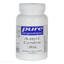 Acetyl-l-Carnitine (500mg), 60 Capsules