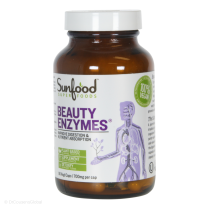 Beauty Enzymes, 90 Capsules, Sunfood