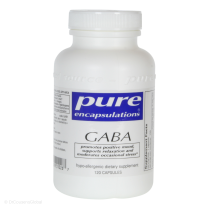 GABA (700mg), 120 capsules, Pure Encapsulations