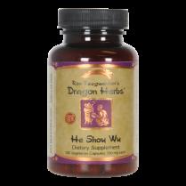 He Shou Wu, 100 Capsules, Dragon Herb