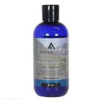 Manganese (Angstrom), 8 fl. oz., Mother Earth Minerals