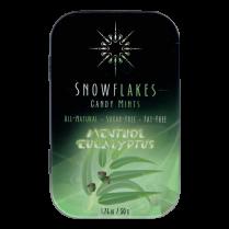 Snowflakes Xylitol Candy Tin | Eucalyptus Menthol