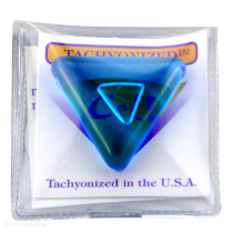 Tachyonized 32mm Triangular Cell - Aqua