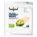 Coconut Wraps, Raw Vegan, 7 ct (14 g) Each