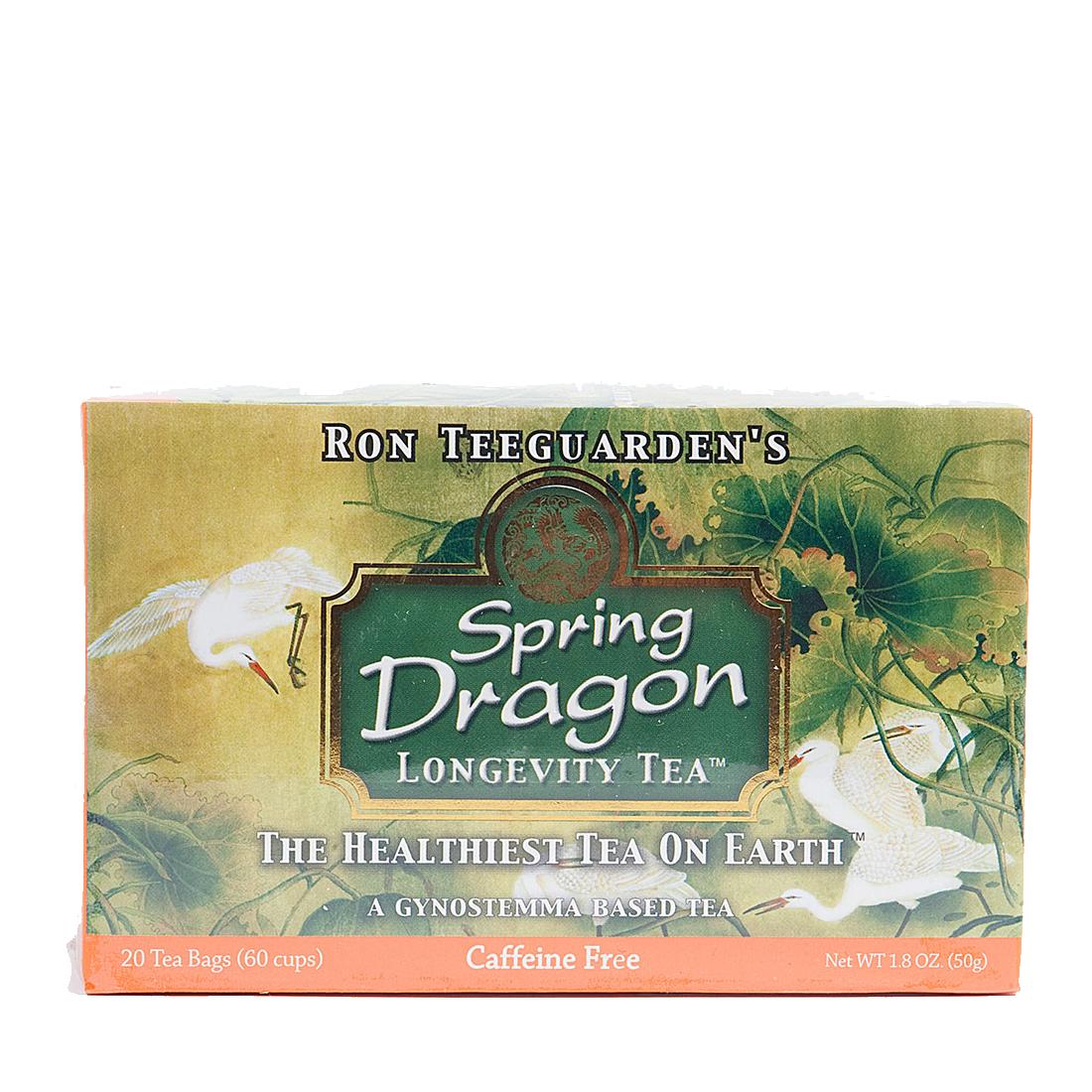 Spring Dragon Longevity Tea The Healthiest Tea On Earth