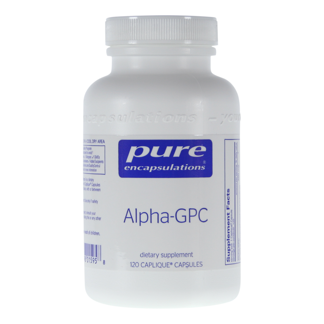 Alpha Gpc 120 Capsules Choline Source For Memory And