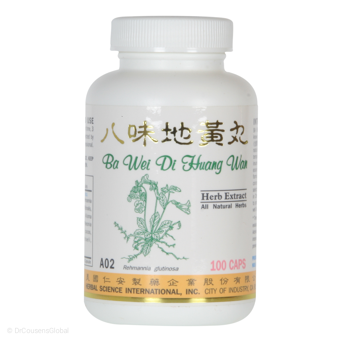 Super 8 Kidney Tonic A02 100 Capsules A Chinese